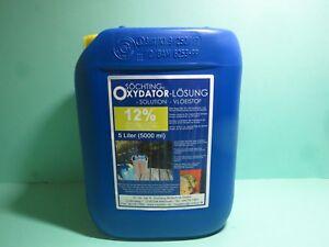 SÖCHTING Oxydator Lösung 12 %  5 Liter Wasserstoff Peroxyd Teich, Koi   20445