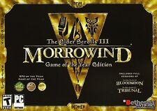 Elder Scrolls III: Morrowind GoTY (PC) [Steam]  {Game of the Year Edition}
