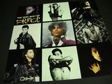 PRINCE 2-sided PROMO DECORATOR FLAT The Very Best collage style - mint condition