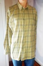 Woolrich Men's Long Sleeve Button Down Shirt Size L - Barley #6412 - 100% Cotton