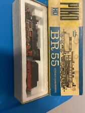 Ho scale BR 55 locomotive and tender made by Piko
