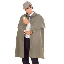 GRAUER DETEKTIV UMHANG # Ermittler Polizist Agent Kriminalpolizist Kostüm 3358