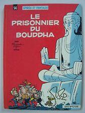 SPIROU ET FANTASIO. LE PRISONNIER DU BOUDDHA 1977.  Intérieur très correct.