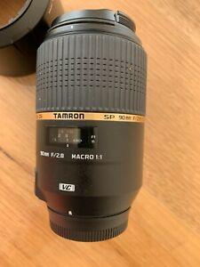 Tamron 90mm F/2.8 Di Macro VC USD Lens - Nikon mount