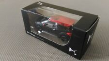 Car Miniature Norev DS3 Racing Collection 3 Inches Black And Red 2014 TBE