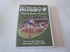 DVD - La légende du Rugby - Pays de Galles / France - 5 avril 1998