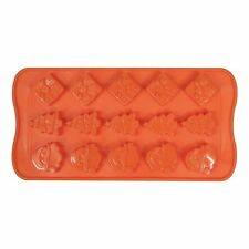 Long Christmas Silicone Chocolate Ice Tray Soap Candle Moulds - Santa / Present
