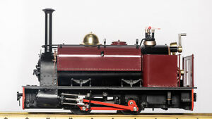 Accucraft Trains - Quarry Hunslet 0-4-0T (1:19 Scale, 32mm gaug) Red (Last Unit)