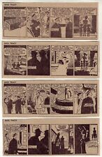 Dick Tracy by Chester Gould - 26 daily comic strips - Complete October 1961