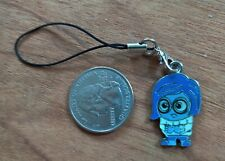 New Inside Out Sadness Enamel Cell Phone Charm Strap