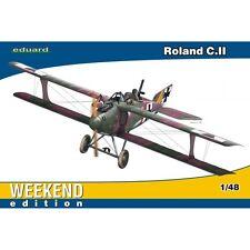 1:48 Eduard Edizione Weekend Roland C. II Aeromobile Modello Kit - 148 C Edk8445