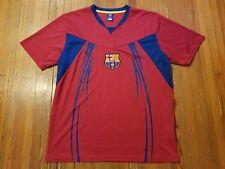 FC Barcelona Men's Red Soccer Futbol Jersey Size L