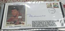 "Muhammed Ali Autographed Gateway Cachet 1960 Olympic Anniversary ""Rare"""