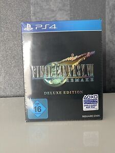**Final Fantasy 7 Remake Deluxe Edition Playstation 4 OVP** Sealed