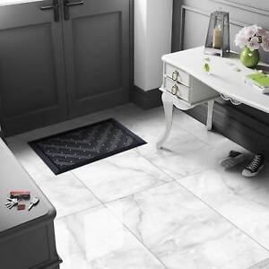 £26.89/m2 Light Grey Onyx High Gloss Porcelain Tile 120x60 Wall-Floor SAMPLE
