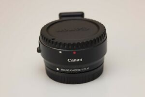CANON EF-EOS M Mount Adapter EF-M EF