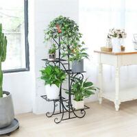 5 Tiers Tall flower Plant Pot Rack Stand Shelf Storage Indoor Garden Multilayer