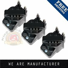 Set of 3 New Ignition Coil Buick Cadillac Chevrolet Oldsmobile Pontiac DR39