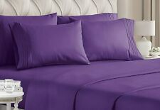 Queen Size Sheet Set - 6 Piece Set - Hotel Luxury Bed Sheets - Extra Soft - Deep