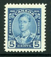 Canada 1935 Silver Jubilee 5¢ Blue Scott #214 MNH H845