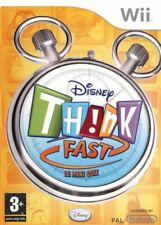 Nintendo Wii Spiel - Disney's Think Fast: The Family Quiz Game ENGLISCH mit OVP