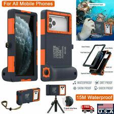 Universal Phone Waterproof Case Underwater Diving Camera 11 Pro F2X8 Cover Y9U4