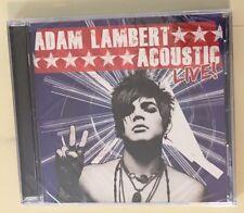 ADAM LAMBERT Acoustic LIve! CD 2010 NEW SEALED