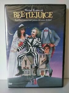 "BEETLEJUICE ""Tim BURTON"" DVD Pal zone 2 - Neuf sous blister / New & selead"
