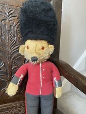 Vintage Merrythought Guardsman Teddy Bear. 20 Inches