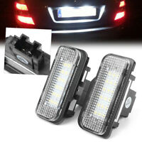LED Number License Plate Light For Mercedes-Benz W203 W211 W219 R171 CLS-Class