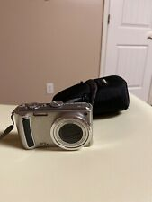 Panasonic LUMIX DMC-TZ4 8.1MP Digital Camera, Silver. Case,Battery, & charger.