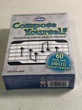 Think Fun Compose Yourself Music Card Game ~ Write Music In Minutes ~ Orchestra