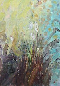 James Carlisle - 1937-2019 - Under the sea - jewel of a painting