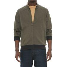 Howler Brothers Men Zip-Up Jacket Quick Draw  Fatigue/Black M