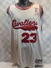 Lebron JAMES 23 Cleveland Cavaliers NIKE Basketball NBA Jersey Size XXL