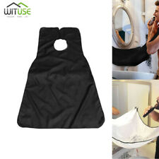 Hair Clippings Bib Beard Catcher Grooming Cape Apron For Men Shaving Trimming 9