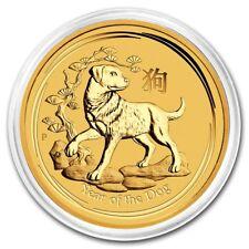 Australien Lunar Jahr des Hund Hundes 2018 1/10 oz 999 Gold Goldmünze