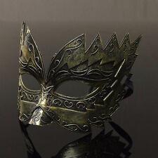 Men's Roman Gladiator Half Face Costume Mask Masquerade Halloween Party Props OZ