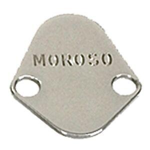 MOROSO 65394 Fuel Pump Block-Off Plate For Big Block Chevy/Mopar V8/Ford V8