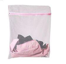 40 x 50cm zipped Laundry Washing Bag Net Mesh Socks Bra Clothes Machine