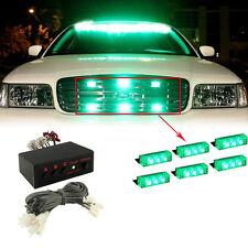 NEW Green  18 LED Flash Emergency Strobe Grill Light Lamp Flashing Warning lihgt