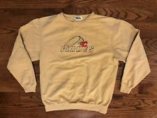 Calgary Flames Hockey NHL VTG Original Waves Authentic Sweatshirt Men's Medium