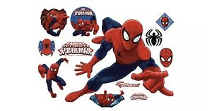 Original FATHEAD Marvel Ultimate Spider-Man Big Wall Decal Sticker 96-96091 NEW