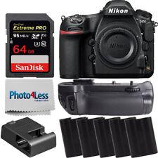 Nikon D850 45.7MP DSLR Cuerpo de Cámara + Batería Grip + 5x baterías adicionales 64gb Kit