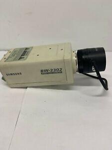 Samsung BW-2302EA  B&W CCD Security Surveillance Camera W/TV Lens F1.2/4mm