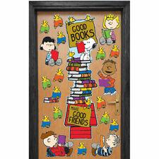 Peanuts Reading Door Decor Kit Eureka Eu-849315