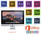 "APPLE iMAC 27"",i5,12GB,1TB HDD,Photoshop,Illustrator,Lightroom,InDesign,Office16"