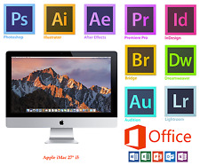 Apple iMac da 27 pollici, i5, 12 GB, 1 TB, Adobe Photoshop, Illustrator, InDesign, Office 16