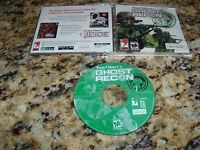 Tom Clancy's Ghost Recon Windows (PC, 2001) Game (Near Mint)