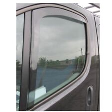 WNB Tinted WIND DEFLECTORS 2pcs fits Nissan NV400r 2Dr 2010 to 2017 EU Made